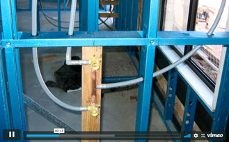 Introduction to holes in steel building frames